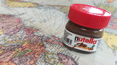 A Trip Around the World with Nutella