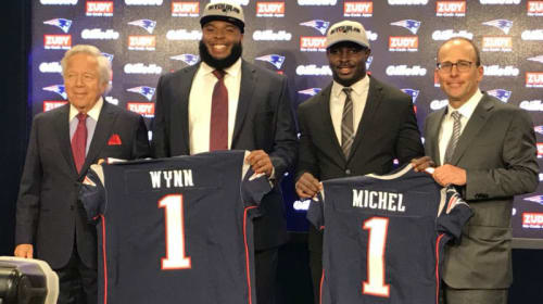 2018 Patriots Draft