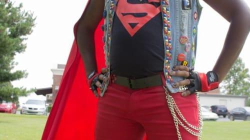 Cosplay DIY: Punk Rock Superman Vest