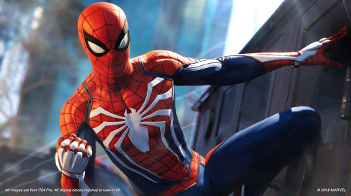 'Spider-Man' PS4