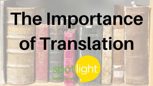 The Importance of Translation in the Education System