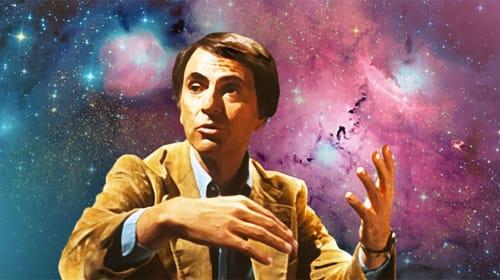 Carl Sagan Inspired Curiosity