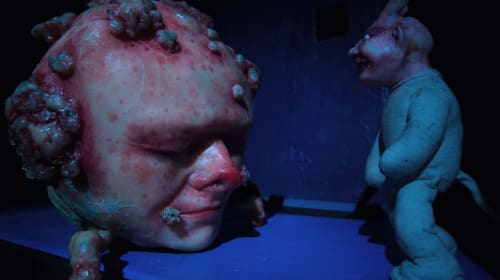 The Stop-Motion Nightmares of Director Rob Morgan