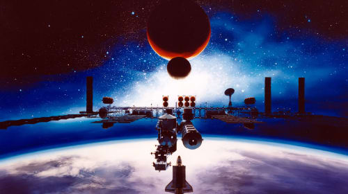 Space Exploration Developments by 2050, A Fictional Vision