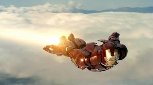 Man Realizes Superhero Dream of Flying Around Like Iron Man With Homemade Suit