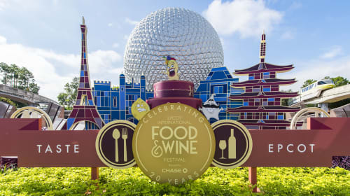 Just Grubbin Series: Our Guide to Epcot's International Food and Wine Festival