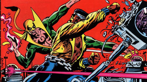 Remember That Time Luke Cage and Iron Fist Teamed Up With Doctor Who?
