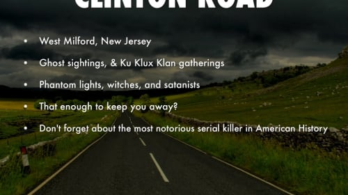 Clinton Road Fact or Fiction