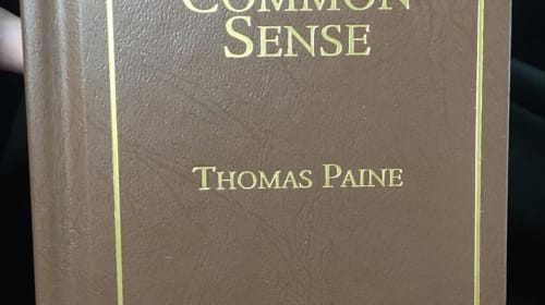 A Review of Common Sense by Thomas Paine