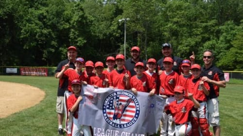 Somers 11U Boys Squad Sticks Together to Win GHVBL Championship