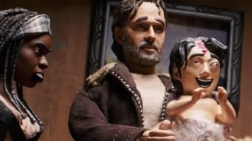 8 Classic TWD Scenes Parodied In 'The Robot Chicken Walking Dead: Look Who's Walking Special'