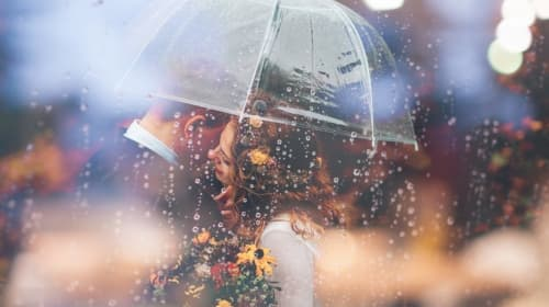 Why Is Rain on Your Wedding Good Luck?