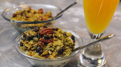 Cannabis Granola Recipe