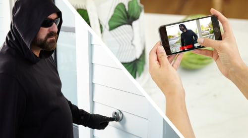 SkyBell Wifi Video Doorbell Protects Your Home