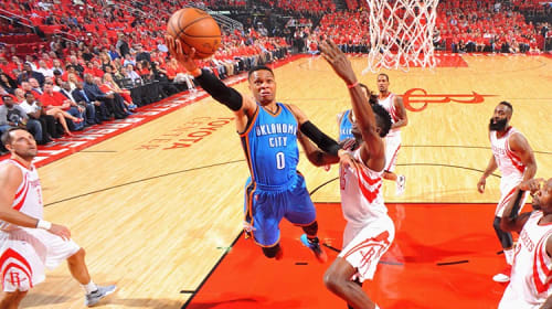 Russell Westbrook and the Most Awkward MVP Announcement Ever