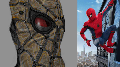 A Touch of Tony: Ever Wondered What Spidey's 'Homecoming' Mask Looks Like From the Inside-out?
