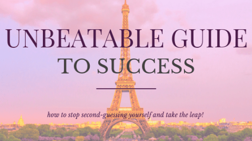 The UNBEATABLE Guide to Success