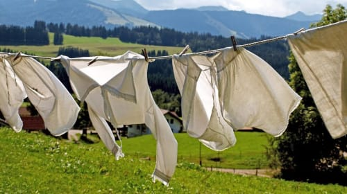 How To Wash Your Clothes While Camping