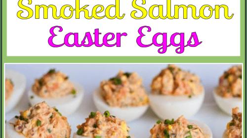 Devilishly Good Smoked Salmon Easter Eggs