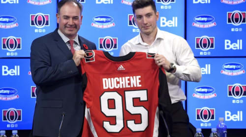 Will Duchene Make The Sens Better?