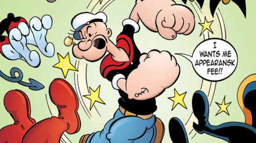 Cuz' He Ate His Spinach: Was Popeye Actually the First Comic Book Superhero?