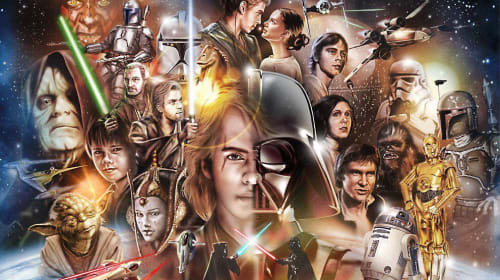 Ranking My Favorite Space Moments from Each 'Star Wars' Movie