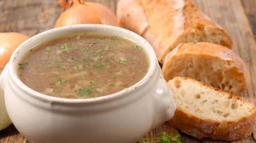 Hearty Vegan French Onion Soup