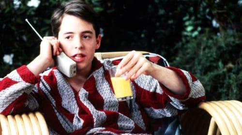 """Ferris Bueller, You're My Hero"""