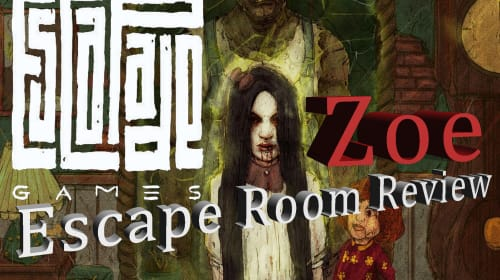 Escapade Games: 'Zoe'