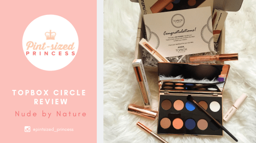 Top Box Circle Review: Nude by Nature