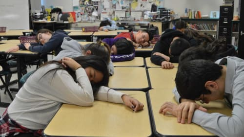 Sleepy Students: The Effects of Sleep Deprivation Caused by an Early School Start Time