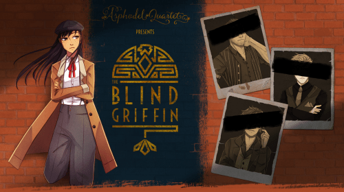 Visual Novel Reviews: The Blind Griffin (2015) and Aloners (2015)