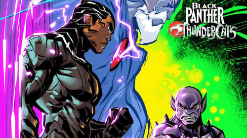 Fantastic Fan Fiction Asks: What If Marvel's Black Panther Met The ThunderCats?