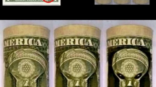 Going Viral: Is a 'Grey Alien Overlord' Depicted on the Dollar Bill?