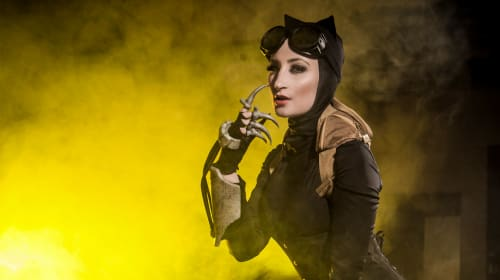 Cosplayer Holly Wolf