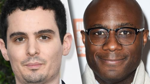 Damien Chazelle and Barry Jenkins On That #Oscars Moment
