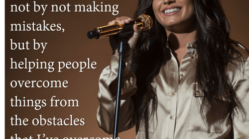 Demi Is No Less of a Role Model After Relapsing - This Is Why