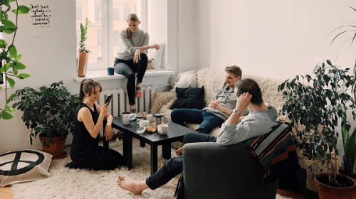 Seven Rules for When Your Friends Come to Stay