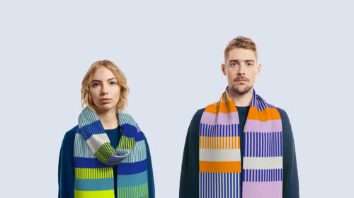 Your DNA Data Can Be Used to Make a Scarf