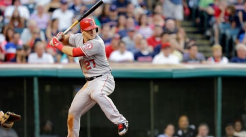 Mike Trout: Pull Hitting Monster