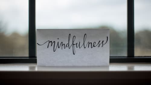 Altering Negativity Through Mindfulness