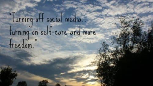 Turning off Social Media