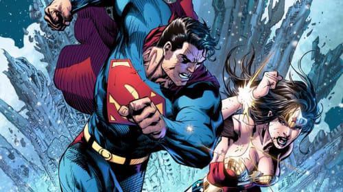 Comic Book Battles: Superman vs Wonder Woman