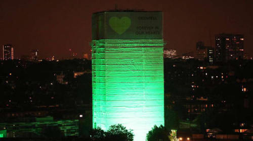 Grenfell Tower Burned a Year Ago