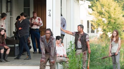 Negan's Visit to Alexandria Wasn't Easy to Watch (but Not in a Gory Way)