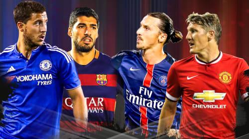 Best European Soccer Jerseys of 2017