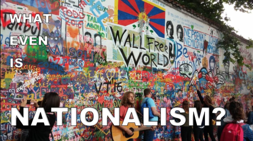 Nationalism or Patriotism?