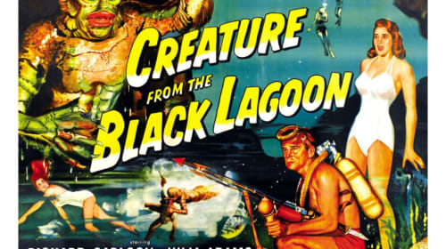 'The Creature From The Black Lagoon' - A Sci-Fi Epic Environmental Horror Movie