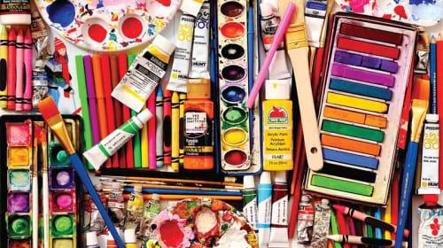 The Joy of Buying Art Supplies as an Artist