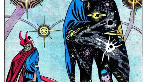 Steve Ditko's Vision of Eternity in Dr. Strange